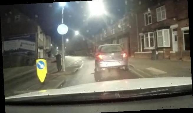 Police tail elderly driver at 3mph in 'world's slowest' chase
