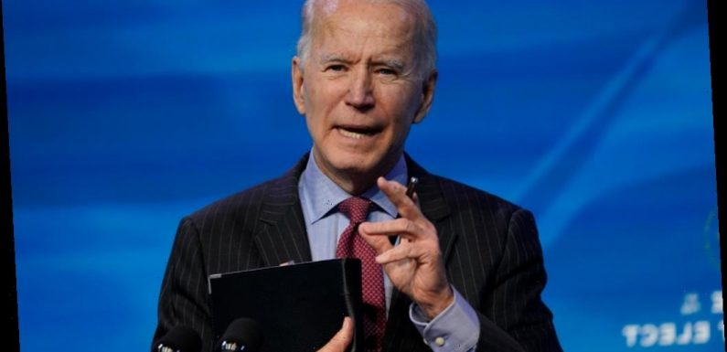 Joe Biden To Unveil $1.9 Trillion Covid-19 Relief Plan
