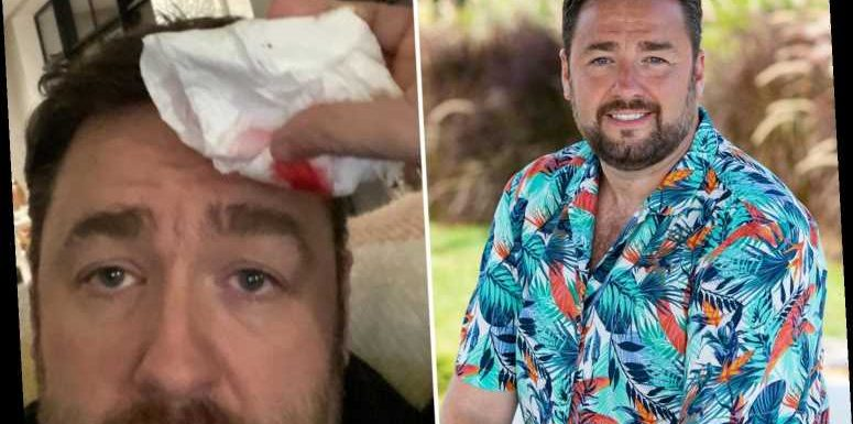 Jason Manford reveals bloody injury as he cuts finger 'to the bone' in horrific dishwasher accident
