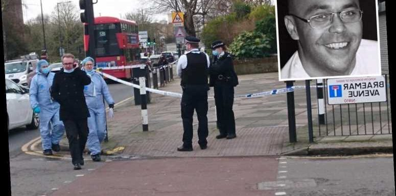 Man, 20, charged with murder after delivery driver, 48, stabbed to death & two other knife attacks on same street