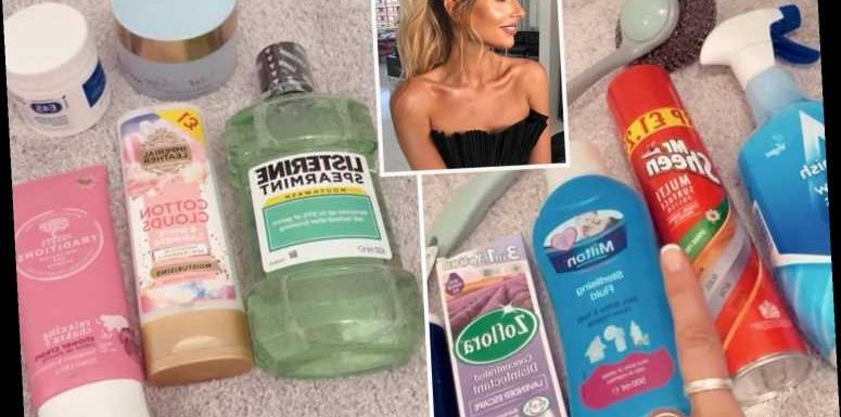 Mrs Hinch shows off her huge Pound Shop haul including bargain Zoflora and beauty products
