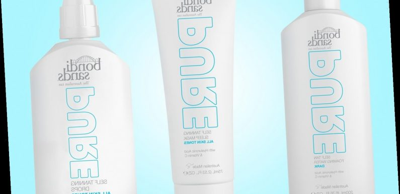 Bondi Sands launch new eco-friendly Pure fake tan with 100% recycled packaging
