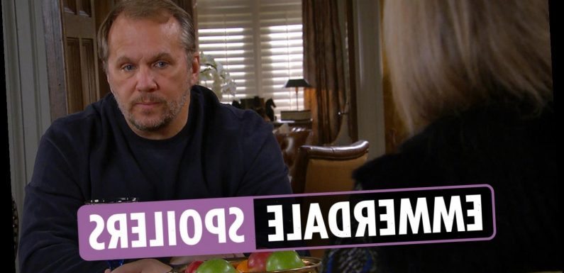 Emmerdale spoilers: Kim Tate and Will Taylor grow closer as his grandson Lucas is taken into care