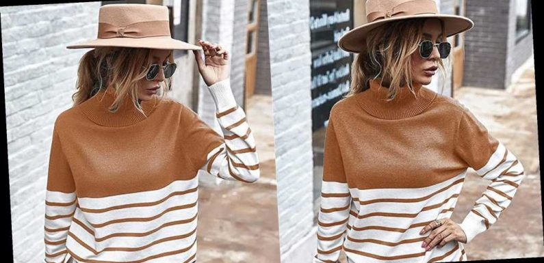 This 'Must-Have' Turtleneck Sweater Has the Most Flattering Loose Fit