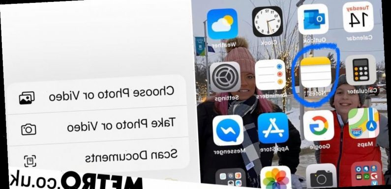 Mum's 'game changing' hack turns iPhone into a document scanner