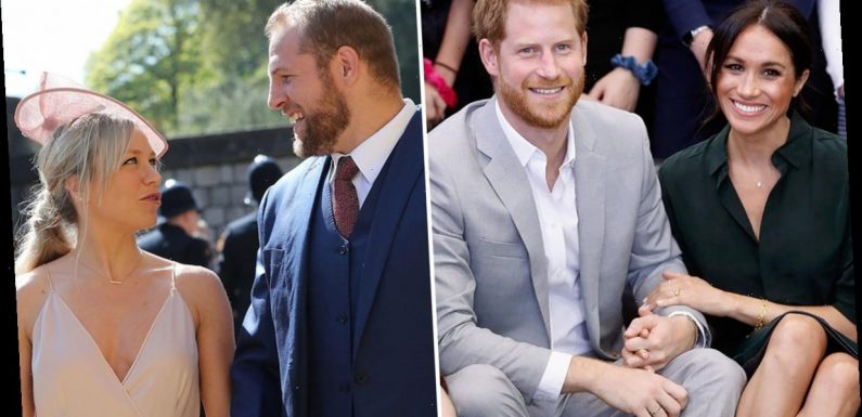 Chloe Madeley not sure Prince Harry and Meghan Markle will come to James Haskell vow renewal