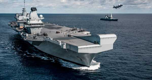 China rages about UK Navy 'plans to deploy warship in disputed waters'