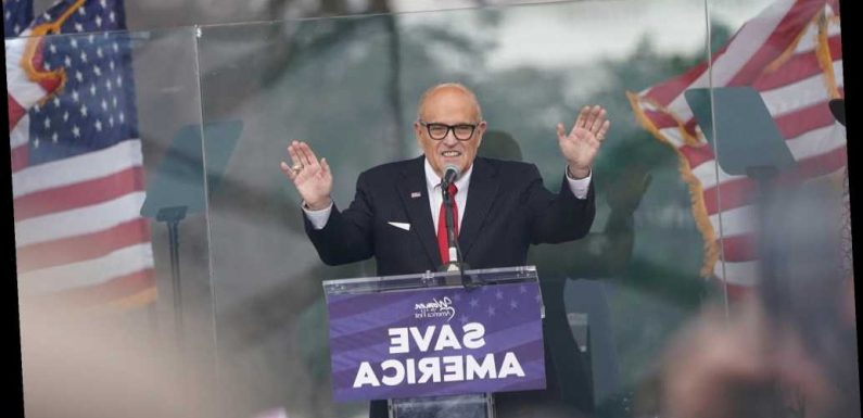 New York State Bar Association may remove Rudy Giuliani after Capitol riots