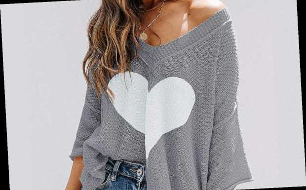 This Heart Sweater Is Completely Adorable for Valentine's Day and Beyond