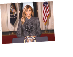 Melania Trump says 'violence is never the answer and will never be justified' in her goodbye vid