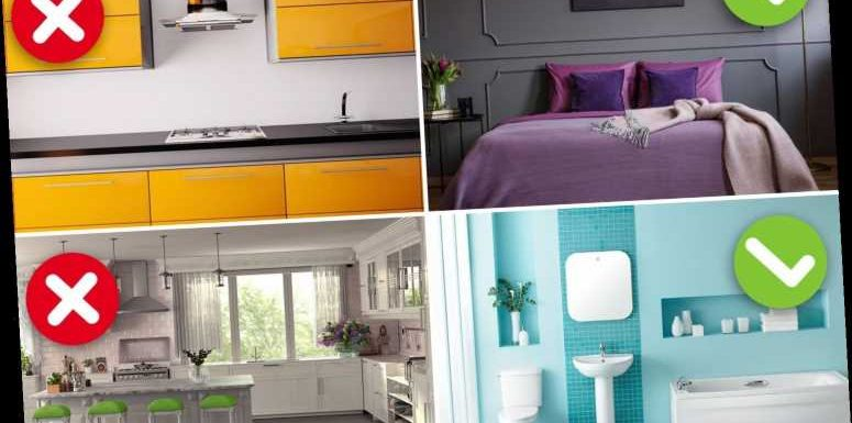 Why painting your bedroom purple will boost your sex life & you MUST redecorate if your kitchen's grey, says colour pro