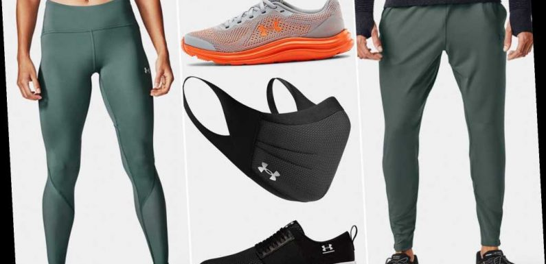Under Armour's semi-annual outlet sale: Up to 40% off shoes, apparel