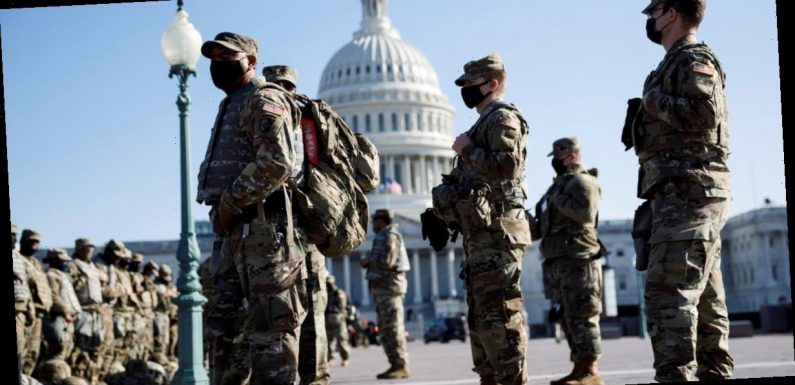 Thousands of National Guard troops will remain in D.C. through mid-March
