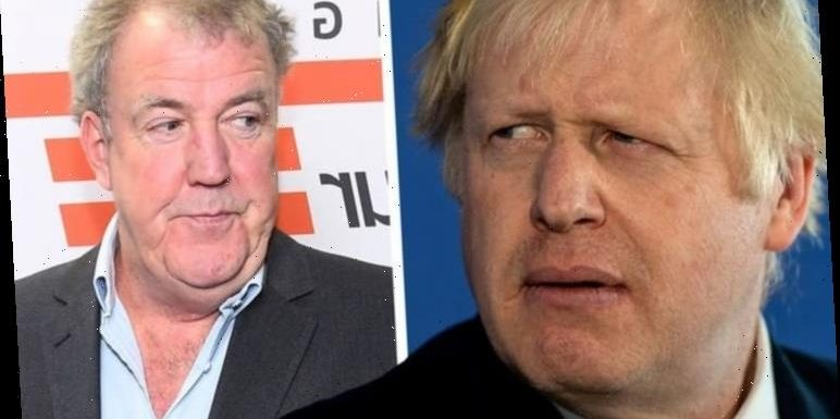 Jeremy Clarkson left 'so angry that his teeth itch' after Boris Johnson's press conference