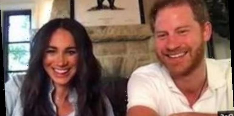 Meghan Markle's throwback to her acting past in latest video appearance with Prince Harry