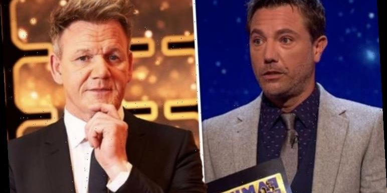 Gordon Ramsay in Gino D'Acampo snub as he addresses 'rivalry' over his new BBC game show