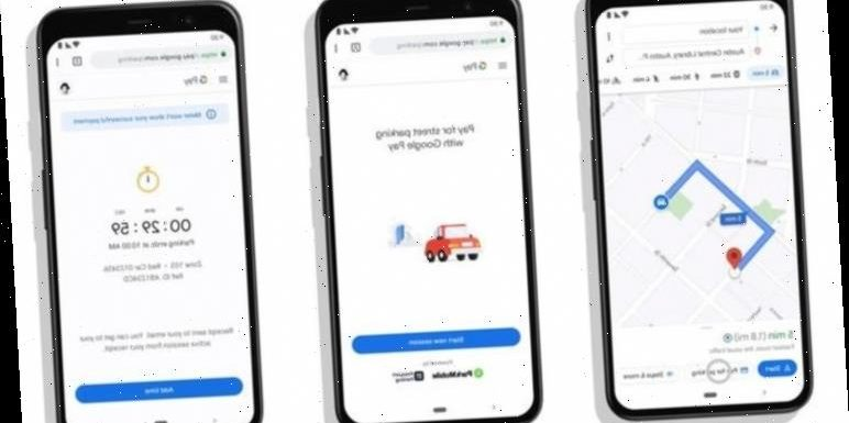 Google Maps will let you pay for parking tickets and train tickets inside the app
