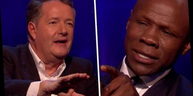 Piers Morgan clashes with Chris Eubank on Life Stories: 'Did you purposefully cut me off?'