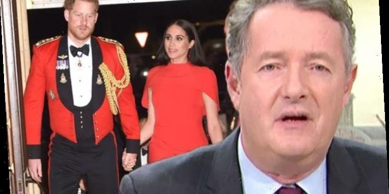 Piers Morgan asks Meghan Markle and Prince Harry to immediately give up royal titles