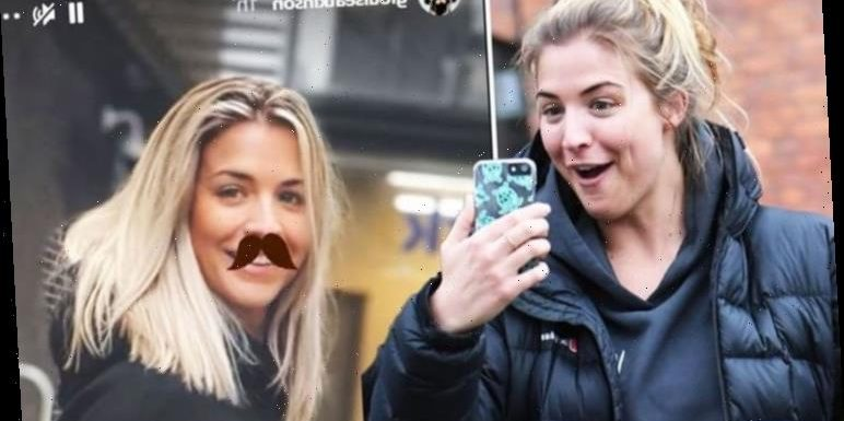 Gemma Atkinson asks salons to reopen as fiance Gorka jibes 'your moustache is something'