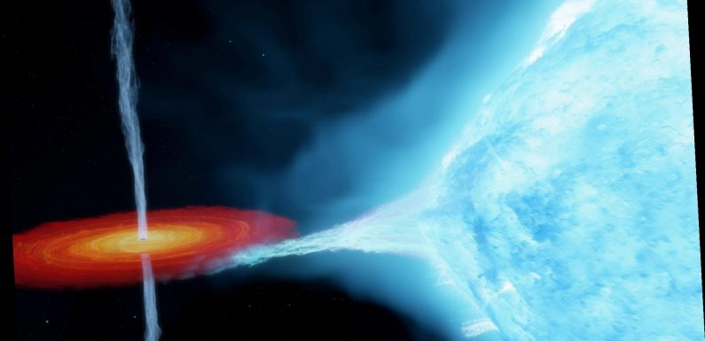 New look at first black hole detected shows it is bigger than expected