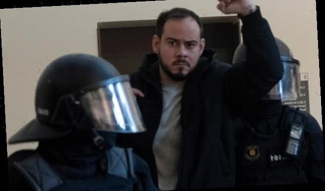 Spanish riot police storm university and arrest rapper Pablo Hasel