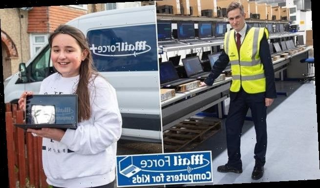 Gavin Williamson hails 'legacy' of Mail Force laptops campaign