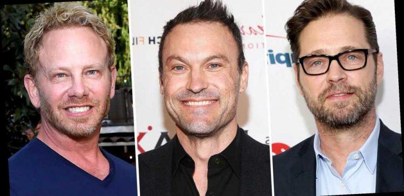 90210's Jason Priestley, Brian Austin Green, Ian Ziering Reunite for Lunch