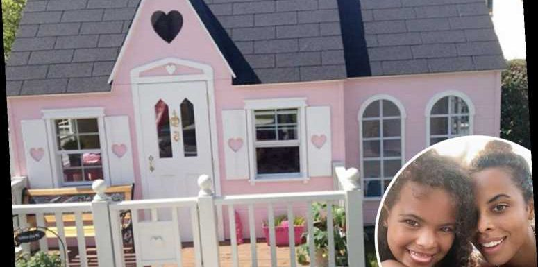 Amanda Holden and Rochelle Humes spend £10K on luxury wendy houses – complete with ice cream parlours and balconies