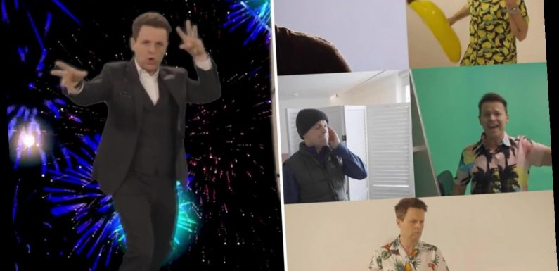 Excited Ant & Dec belt out Saturday Night Takeaway theme tune ahead of first show of series