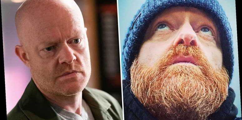 EastEnders' Jake Wood shows off huge beard after filming final scenes as clean-shaven Max Branning