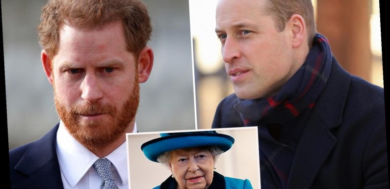 Prince Harry told 'don't disrespect your gran' as he 'clashes with William over Megxit'