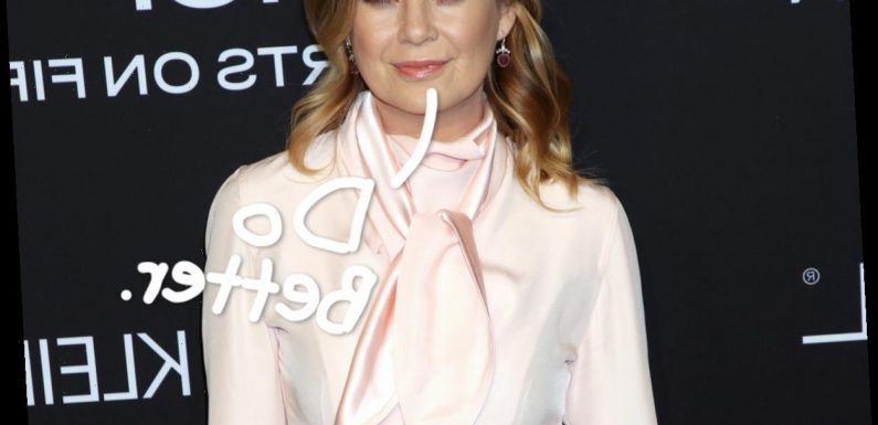 Ellen Pompeo Calls Out The HFPA & 'White Hollywood' In Open Letter Amid Golden Globes Controversy