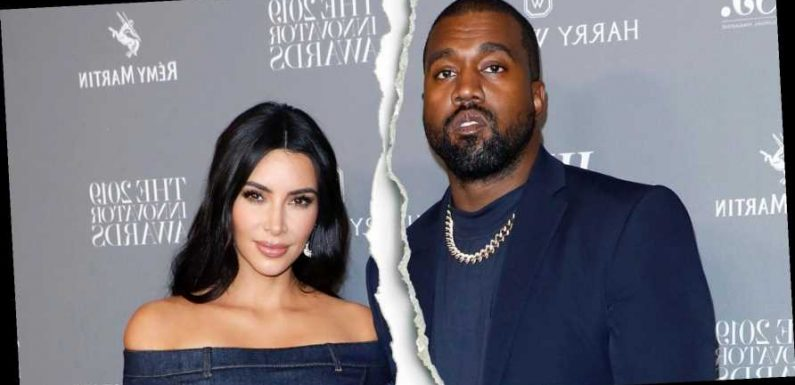 It's Over! Kim Kardashian, Kanye West Split After 6 Years of Marriage