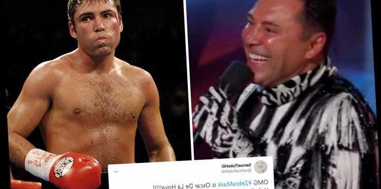 The Masked Dancer reveals Oscar De La Hoya as The Zebra leaving fans 'stunned' by boxing champ's 'unbelievable' moves