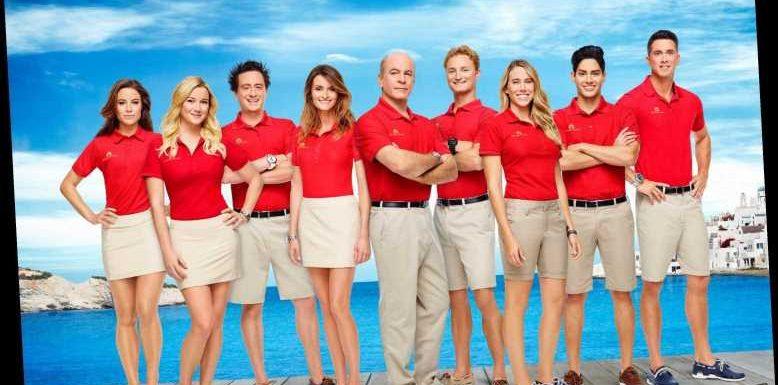 Who is in the cast of Below Deck Mediterranean season 1?