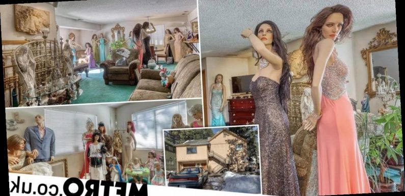 'Terrifying' house listing advertises property filled with creepy mannequins