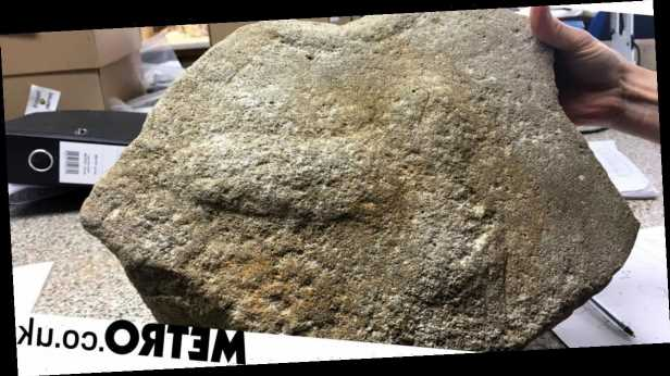 2,000-year-old Roman millstone found with massive penis engraved on it