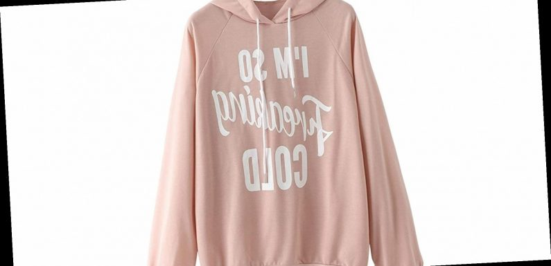 Tell the World How You Really Feel About Winter With This Hoodie