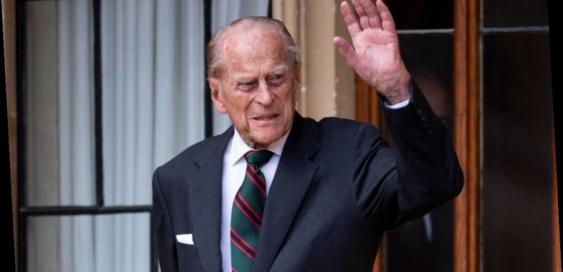 When will Prince Philip leave hospital?
