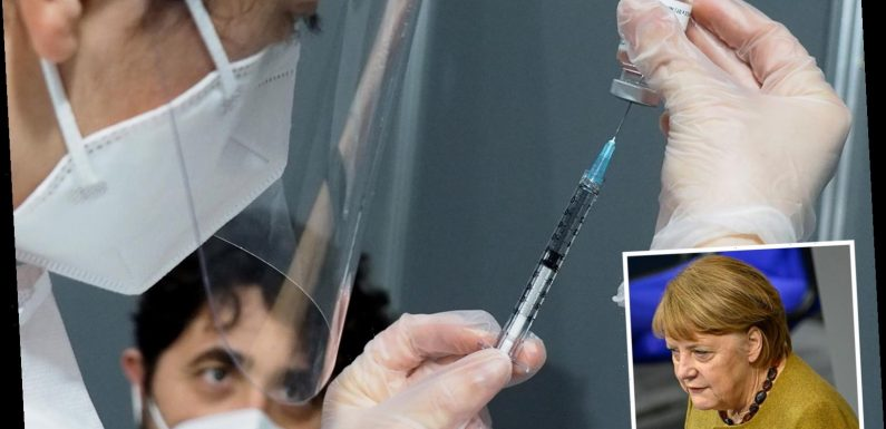 Germany could be forced to pen anti-vaxxers into restricted areas if they don't get jab to halt Covid, Merkel reveals
