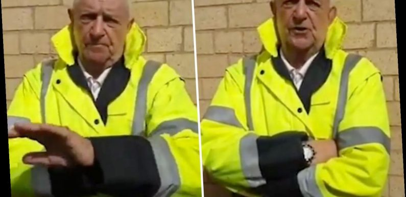 Moment grandad, 83, caught by paedo hunters trying to meet girl, 14, and says: 'I'm bloody foolish'