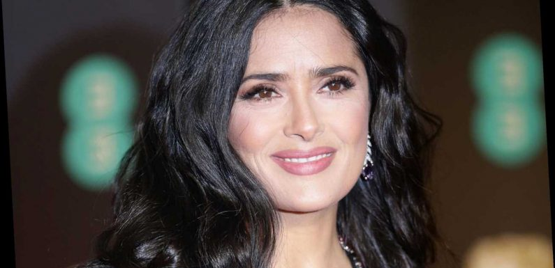Actress Salma Hayek reveals she's making a TV show about talking BOOBS