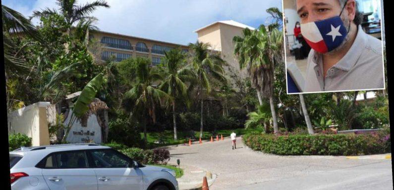 A look inside the glitzy Ritz-Carlton where Ted Cruz stayed in Cancun