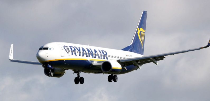 Passenger jets travelling 140mph narrowly avoid crashing into ladder on runway