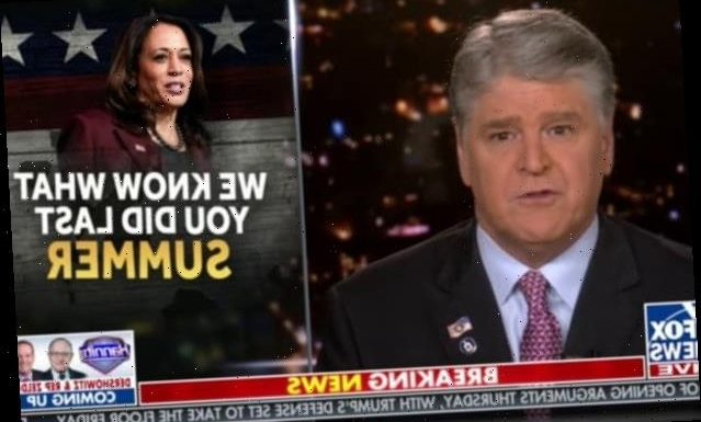 Hannity Falsely Claims BLM 'Attacked' White House Last Summer (Video)