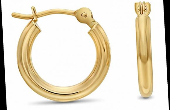 These 14k Gold Hoops Come in 12 Sizes, and They Start at Just $48 on Amazon