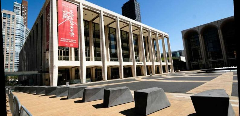 Lincoln Center will return with outdoor performances
