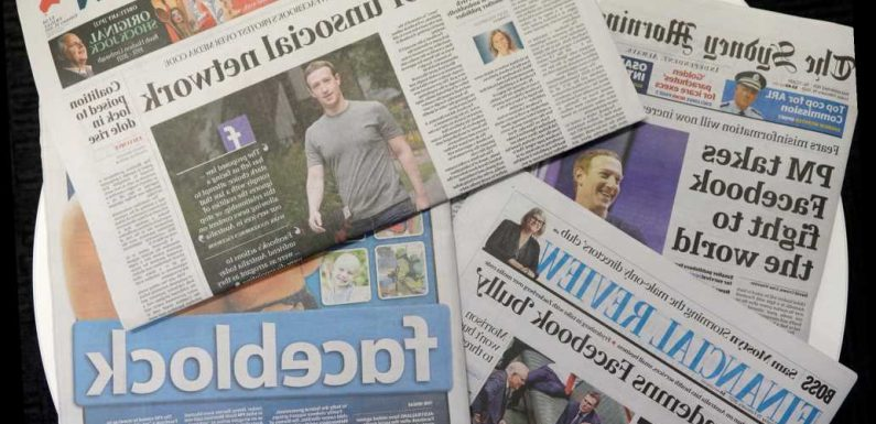 Lawmakers want news outlets to team up against Facebook, Google