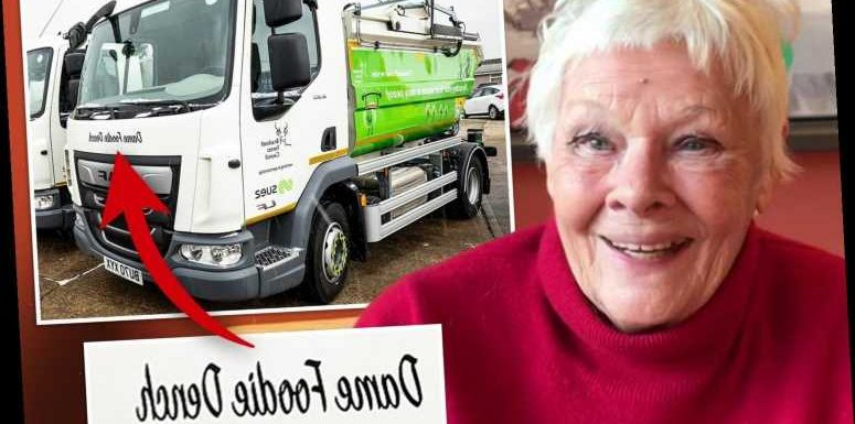 Dame Judi Dench has kitchen-waste bin lorry named after her in Boaty McBoatface-style competition